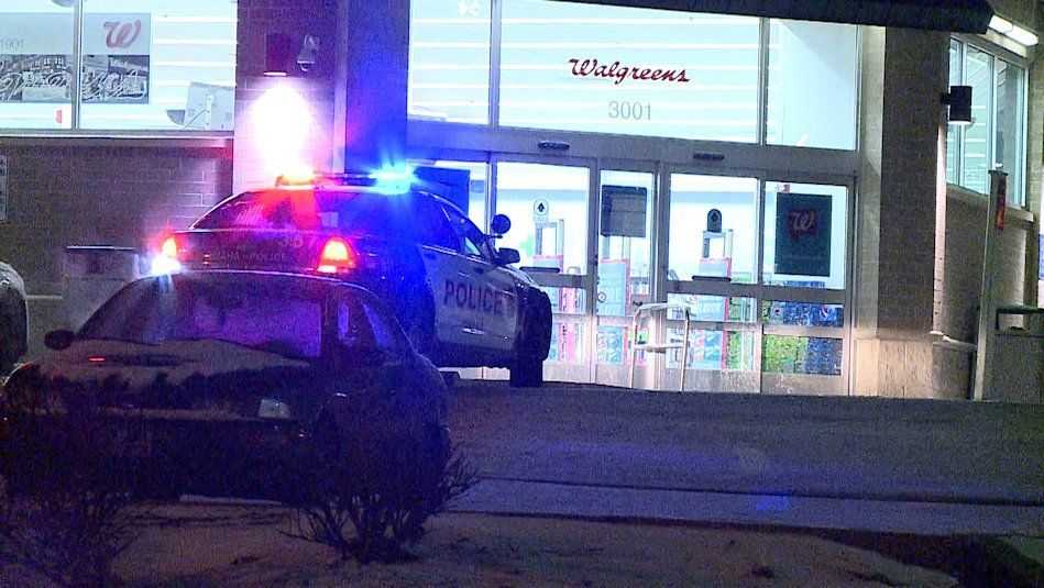 An Omaha Walgreens was robbed early Wednesday morning. Police used