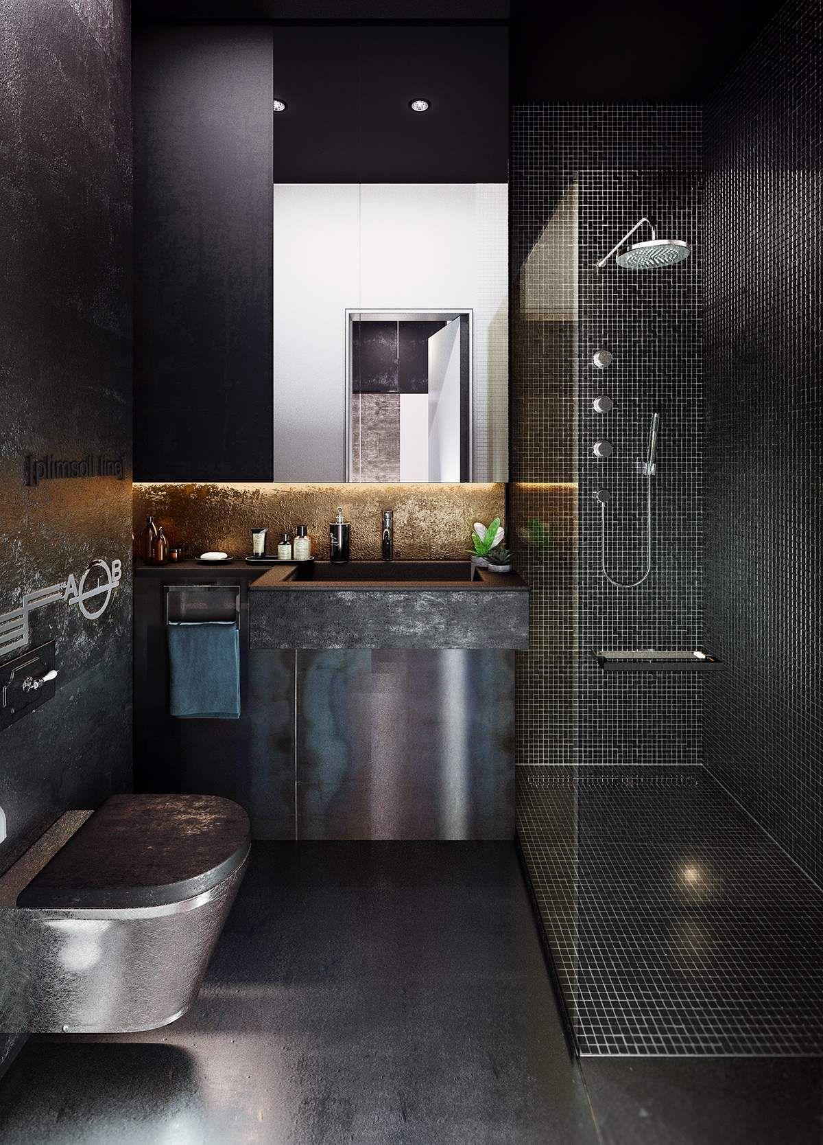 Industrial Style 3 Moderne Bachelor Wohnung Design Ideen Wohnung