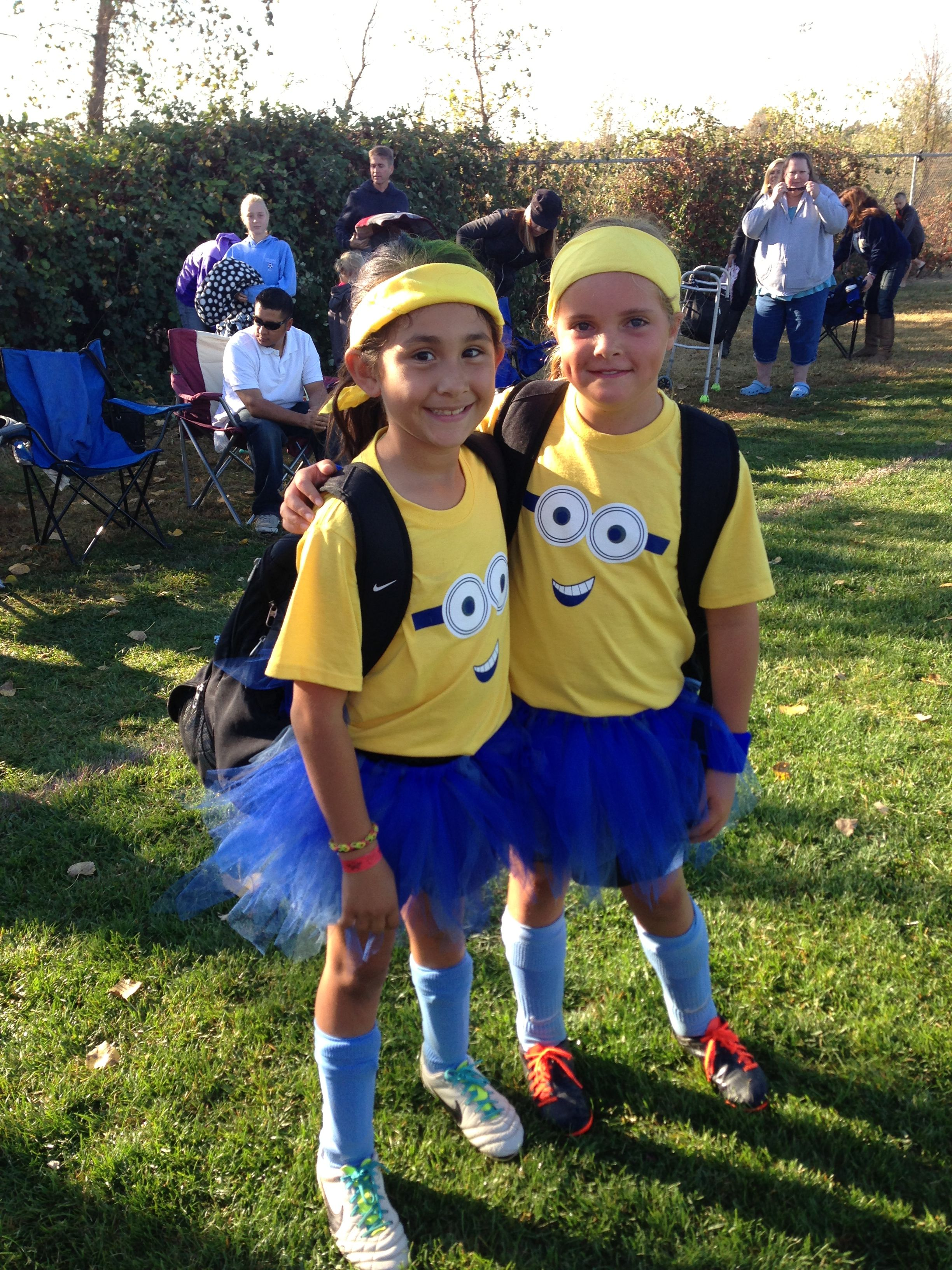 Minion Soccer Outfits Boo Fest Team Halloween
