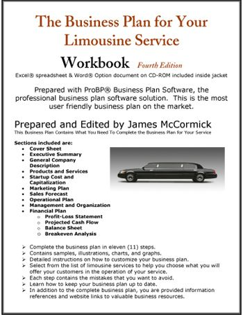 The Business Plan For Your Limousine Service  Small BusinessSelf