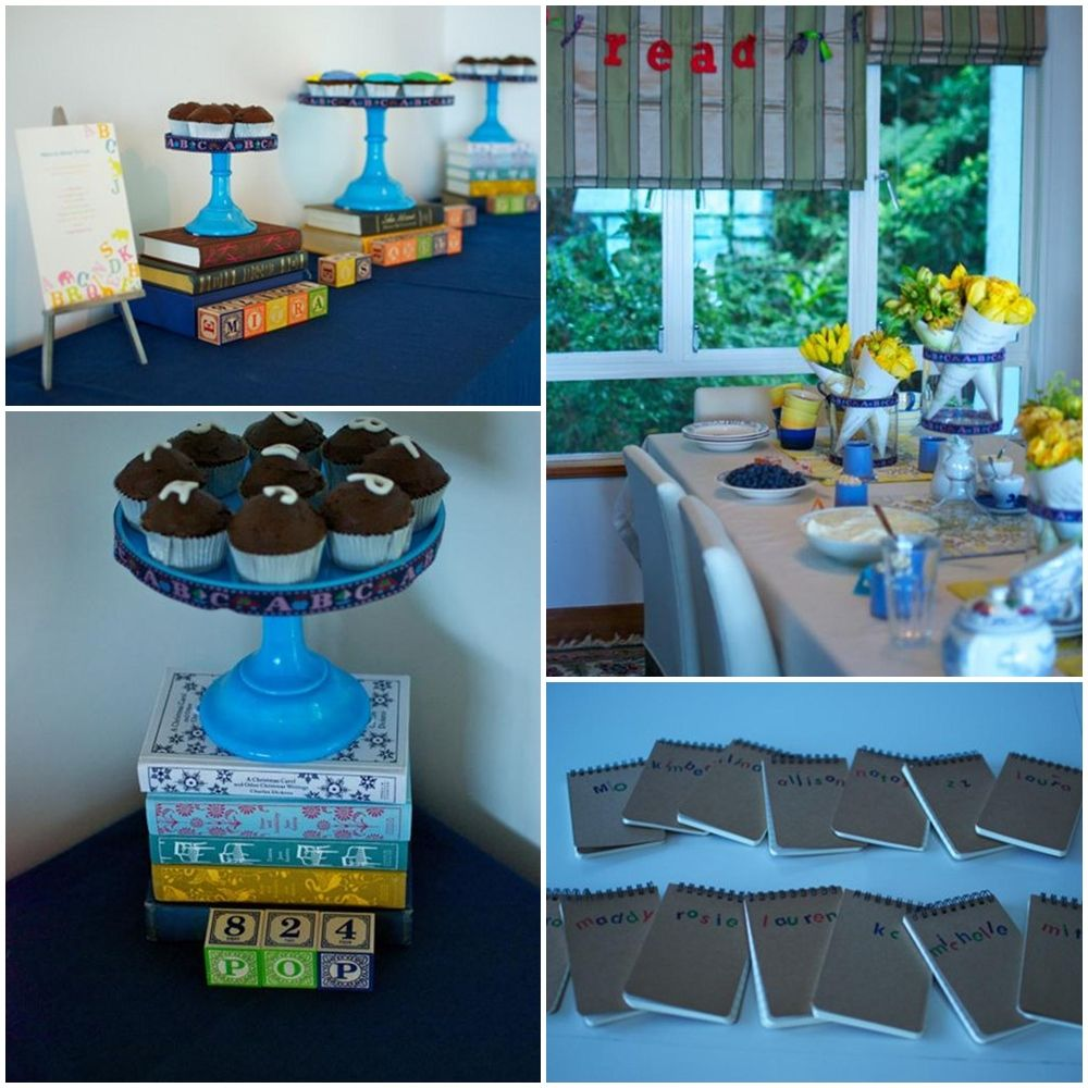 Book Lovers Birthday Party Ideas Book Party Book Themed Party Book Club Parties