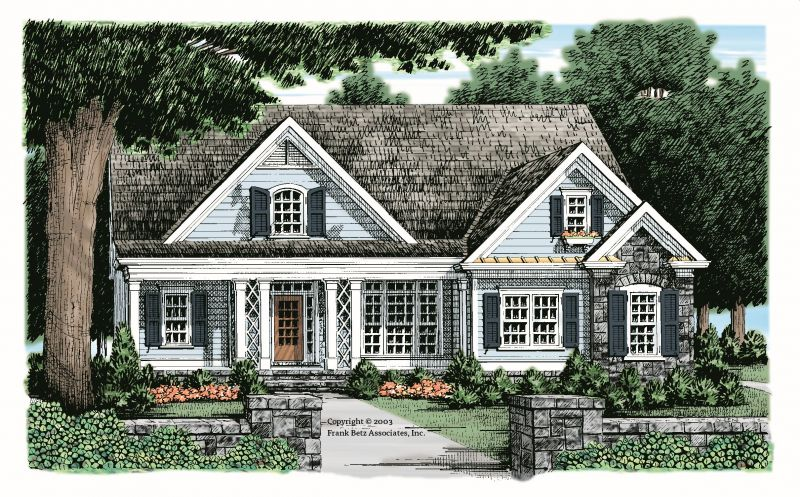 Amelia House Plan The Amelia S Facade Is Clean And Simple With A Cozy Front Porch And Gabled Craftsman House Plans Dream House Exterior Cottage House Plans