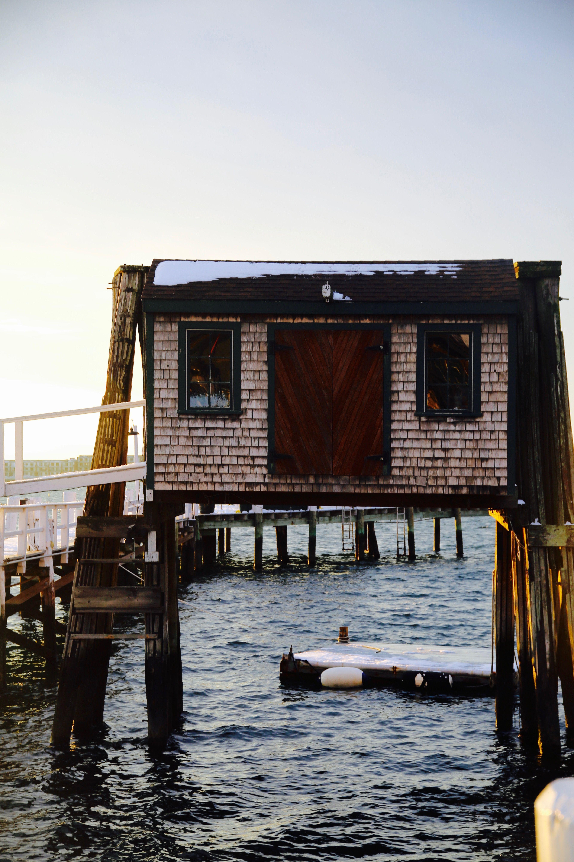 A Wintery Day in Newport Rhode Island