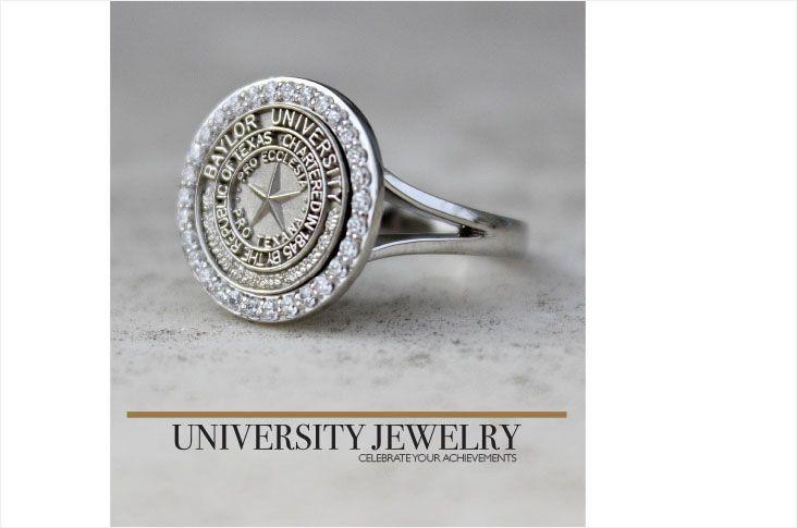 55 regular baylor class ring ro22756 graduation jewelry