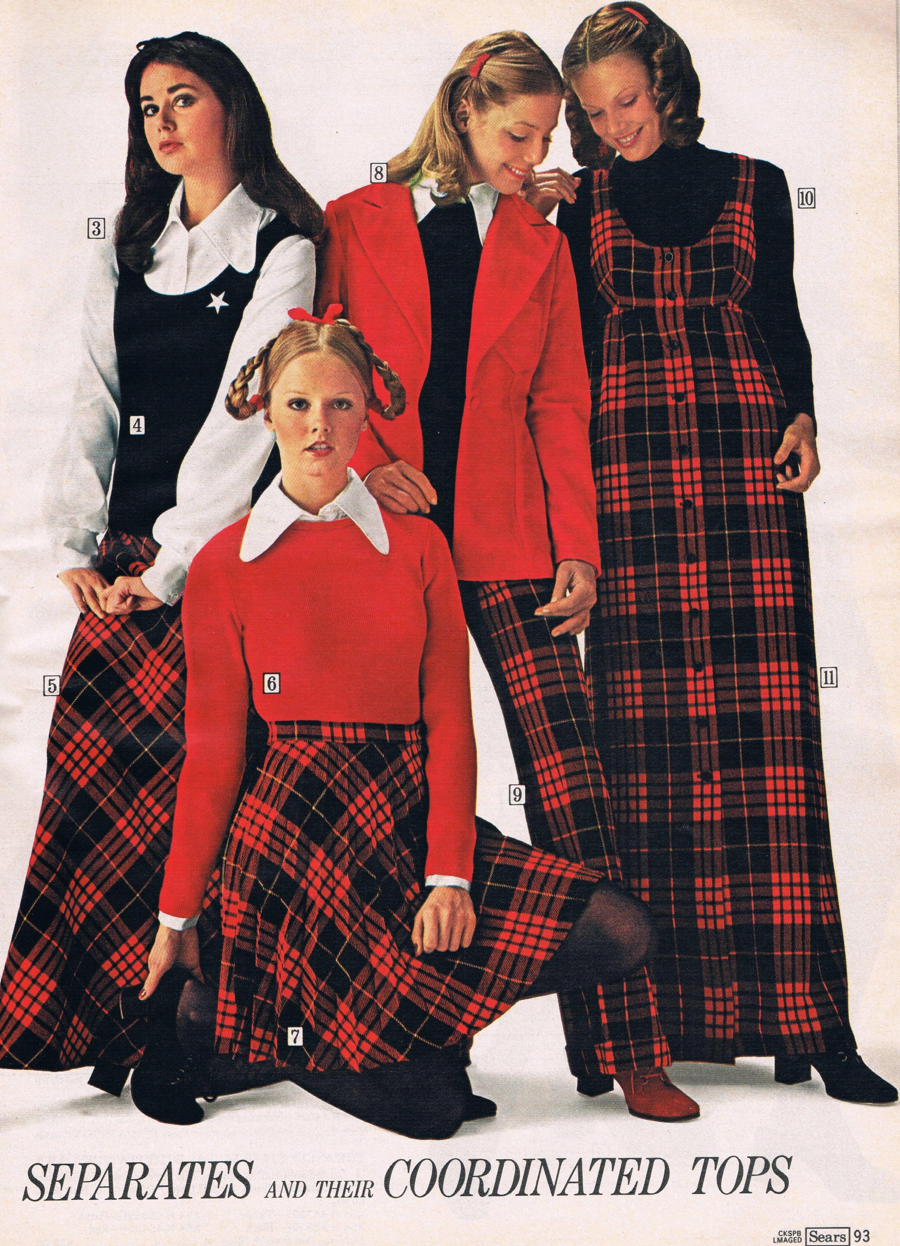 Sears 1972. | 70's catalog fashions | Fashion, 70s vintage ...