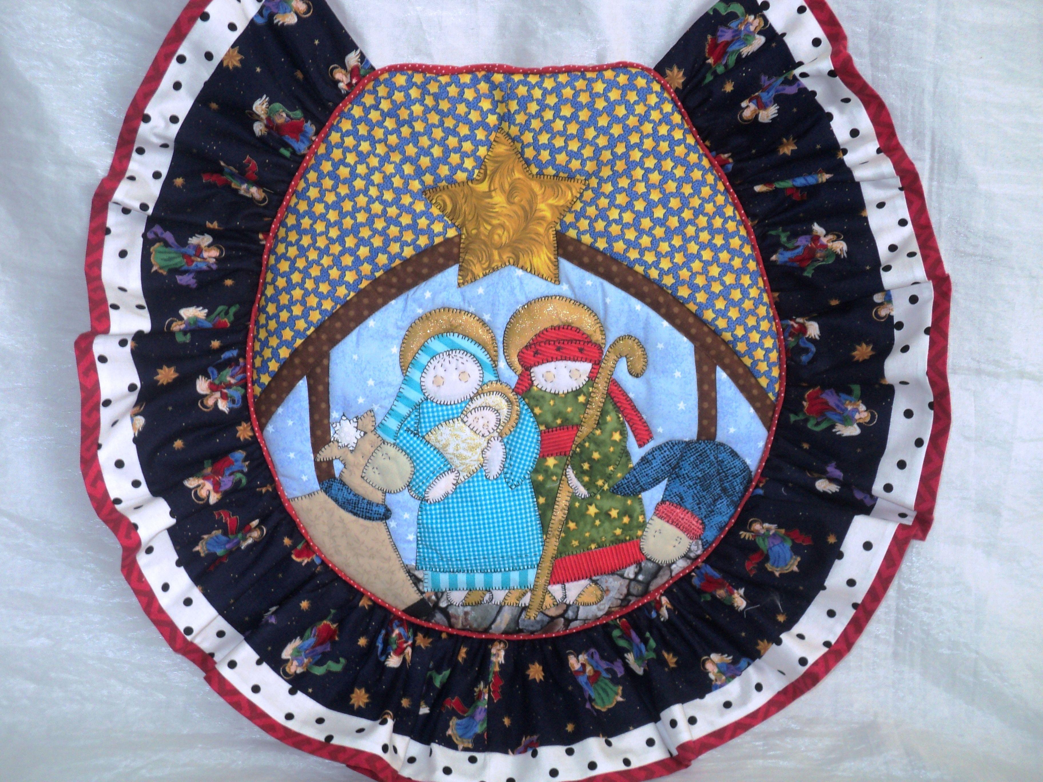 Tapa de poceta set de ba o de pesebre elaborado por for Amarilis decoration