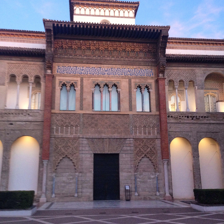 Maravilla de portada en #Alcázar de Sevilla