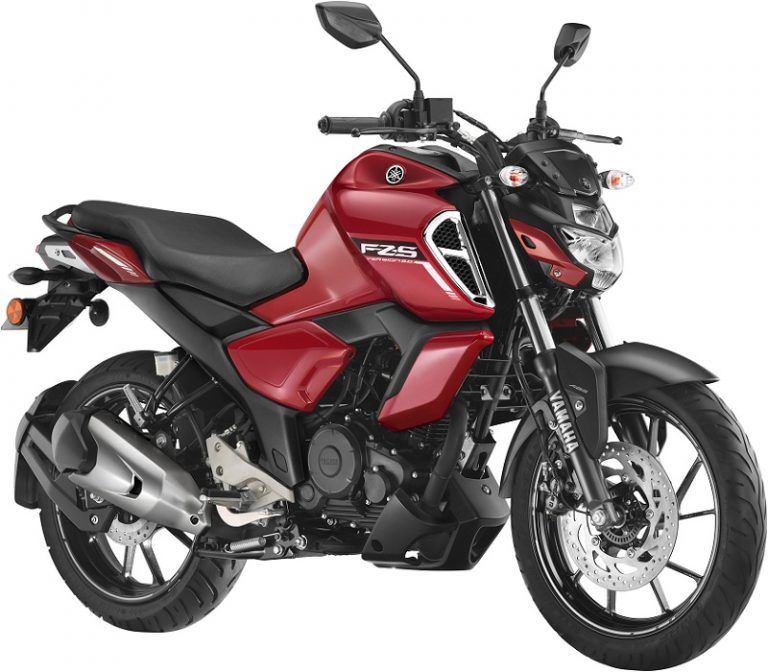 Yamaha Fz Fi Bs6 Launched In India For Rs 99 200 Yamaha Fz