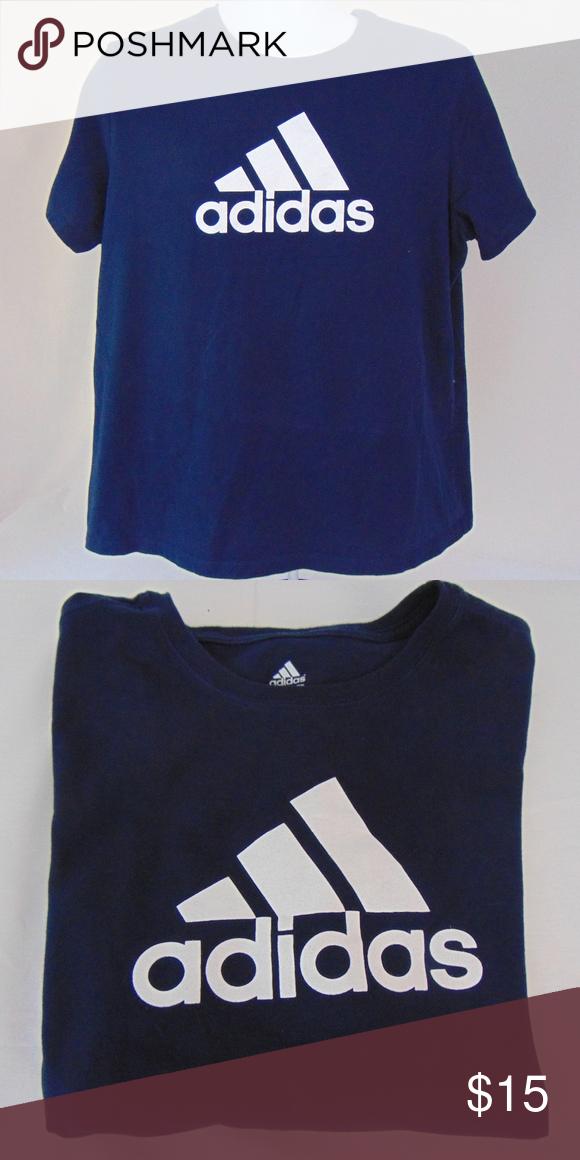 säljs över hela världen bästa online plockade upp Adidas T-Shirt 100%cotton T 2XL adidas Shirts Tees - Short Sleeve ...