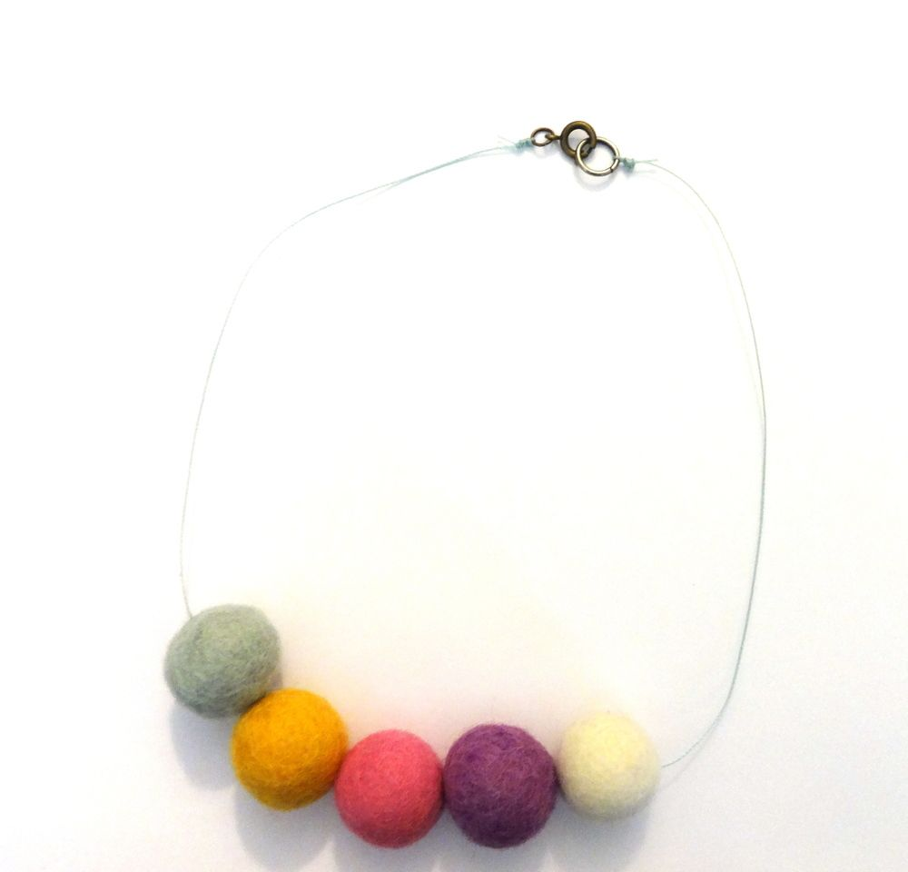 Image of Never Felt This Way Necklace in Pastel