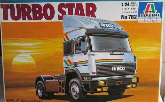 "Cars & Trucks - ITALERI - IVECO ""TURBOSTAR"" TRUCK KIT # 782 in 1/24 SCALE (MIB) was sold for R400.00 on 5 May at 18:51 by Cherry Bomb in Cape Town (ID:145025540)"