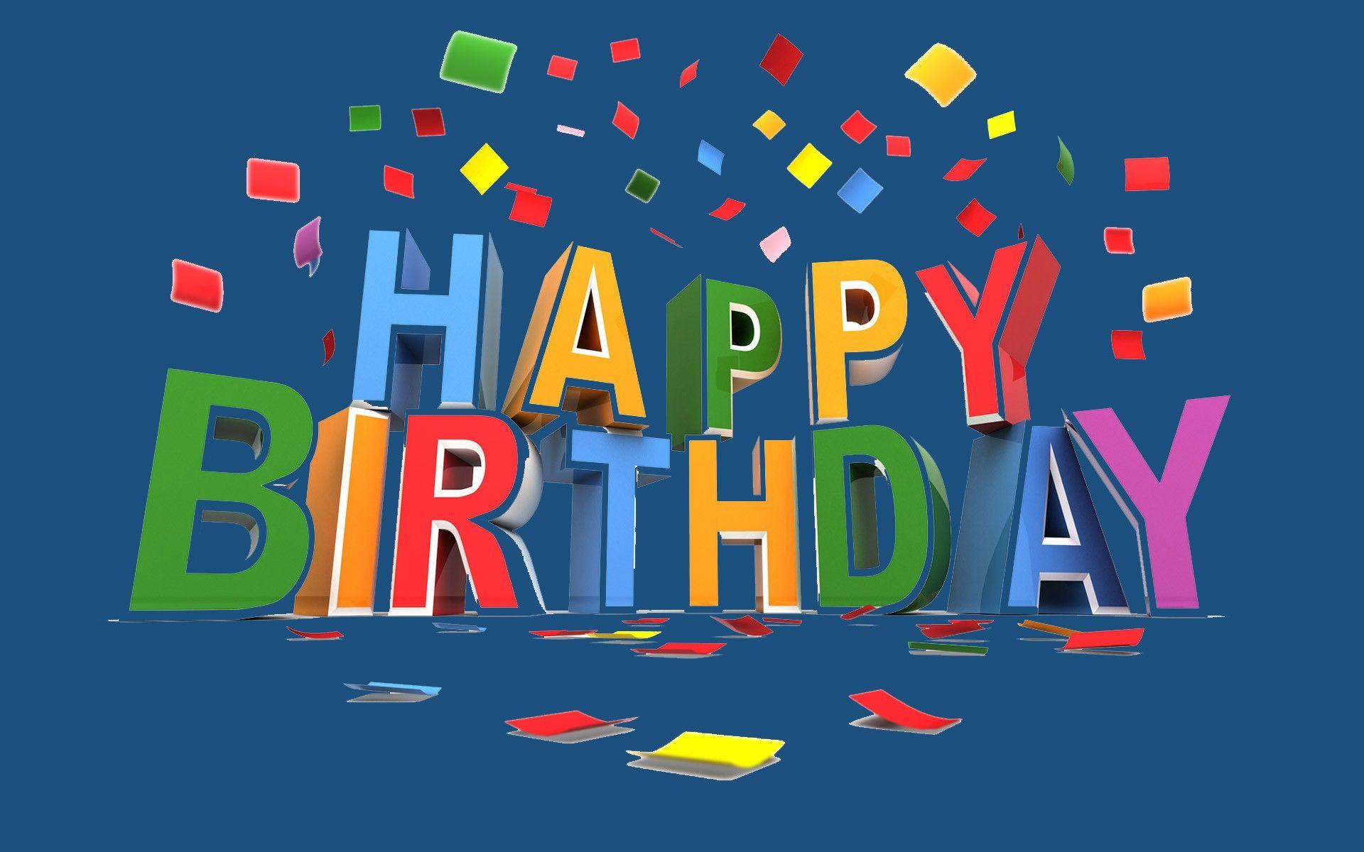 Happy Birthday Wallpaper Images HD Wallpapers Pop × Happy