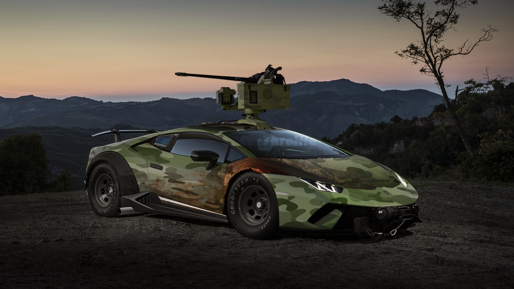 These Off-Road Lamborghini Huracan Renders Are Just Too Much ...