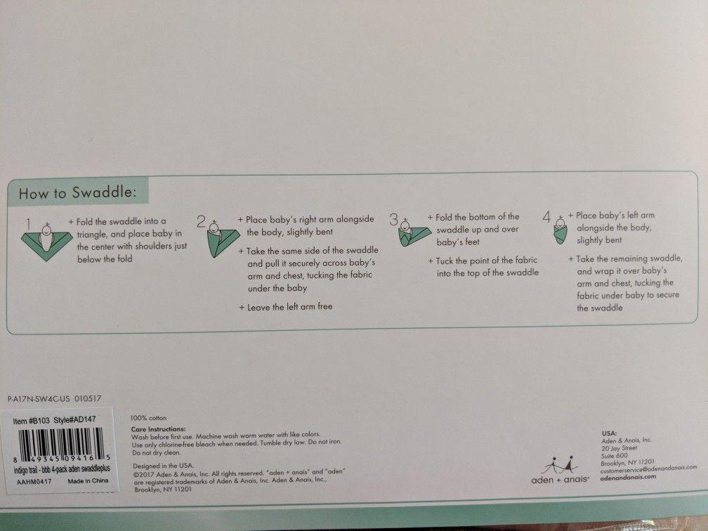 Swaddle Instructions Baby Pinterest Babies