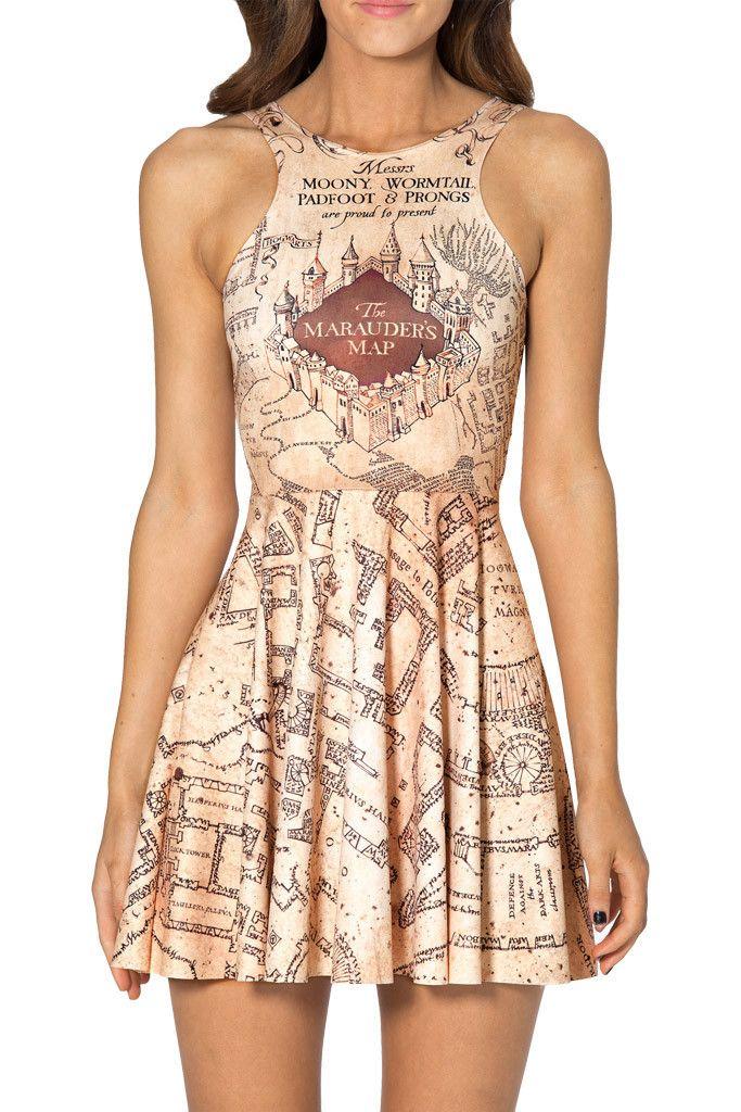 7d8478b5379ee HP Nerd dress Skater Style Dress