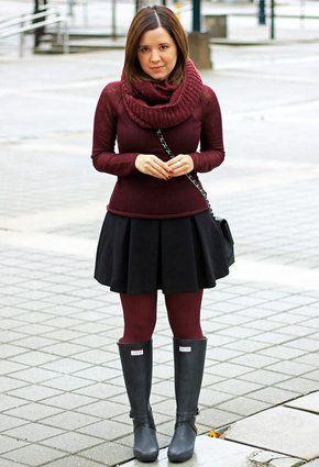 Outfit OutfitRock IdeasStrumpfhosen Boots Winter Hunter hQdtCxBsr