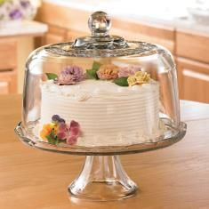 Domed Cake Plate/Punch Bowl Set & Domed Cake Plate/Punch Bowl Set | My Princess House Top Picks ...