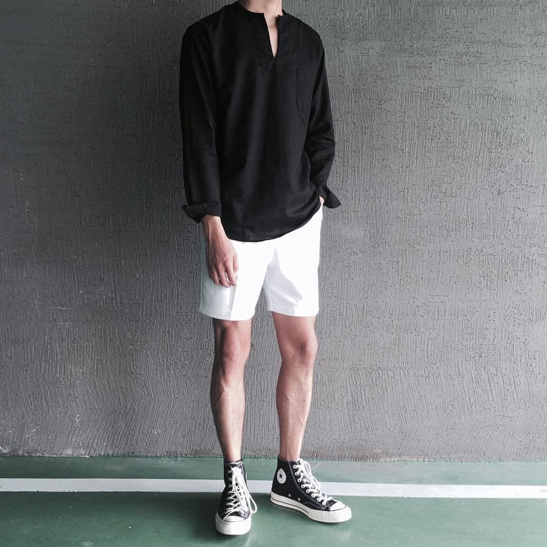ConverseShoes | Korean fashion men, Sneakers fashion outfits