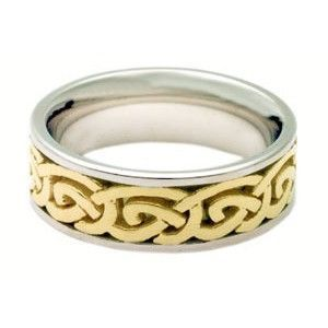 Thickly Braided 14k Gold Ring,
