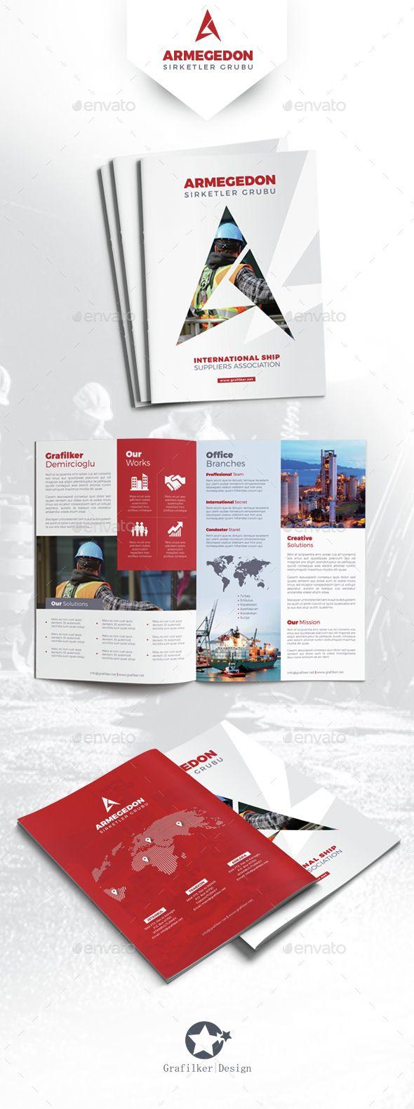 International Brochure Templates | Diseño editorial, Folletos y ...
