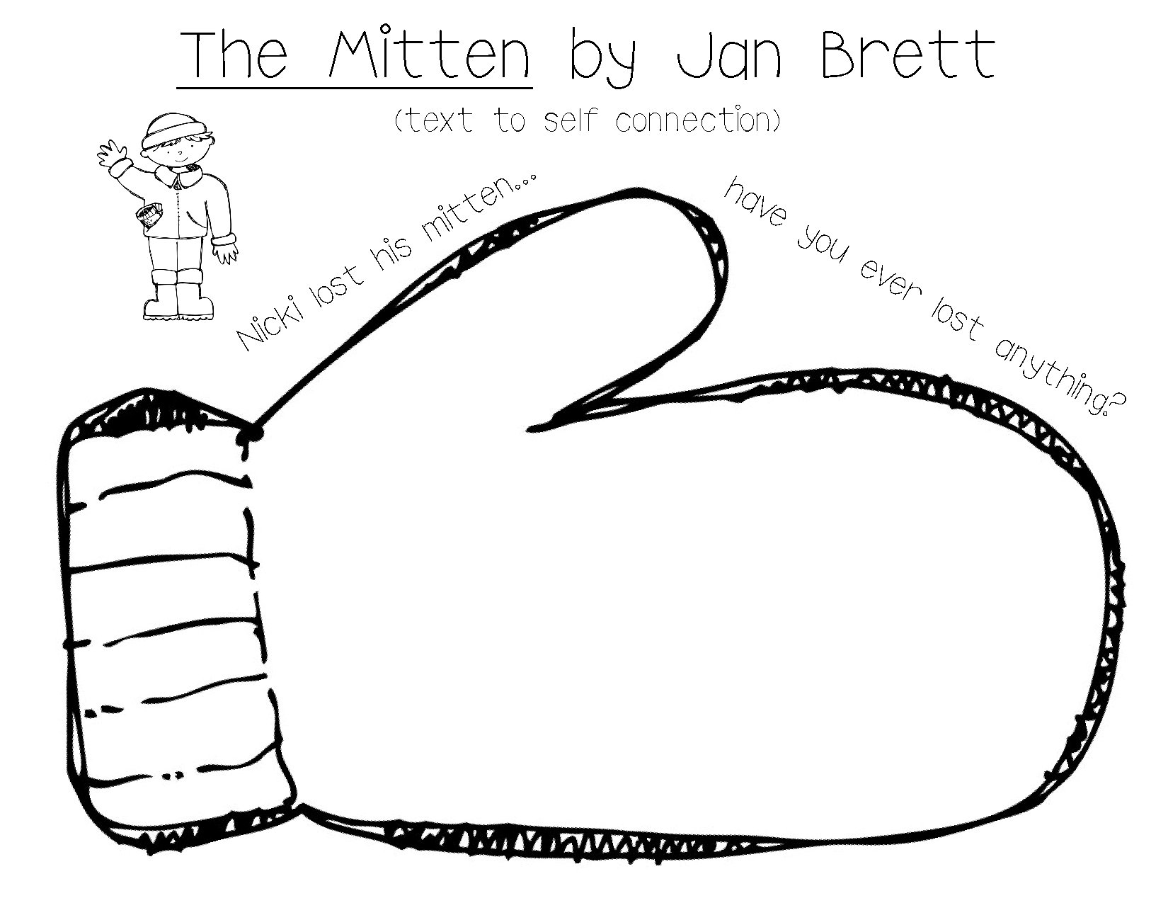The Mitten is something grades 3rd to 5th can use to learn