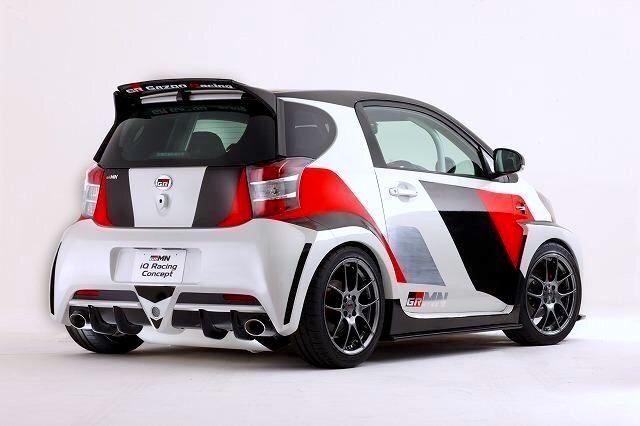 Toyota Iq Grmn Racing Concept Autos