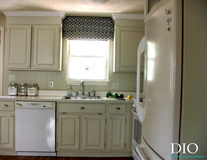 Beautiful DIY Kitchen Cabinets Less Than $250 | DIO Home Improvements
