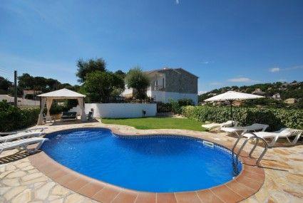 Schönes Landhaus für 6 Personen mit einer privaten Lache und wifi aufgestellt in der Nähe von Lloret de Mar