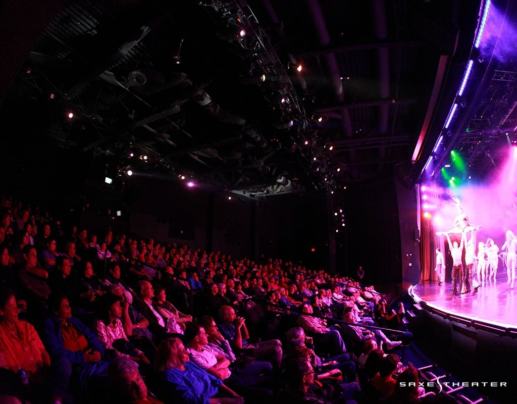 Saxe Theater Las Vegas In The Wallet Buy One Get One Free For Up To 4 People Theater Seating Las Vegas Seating Charts