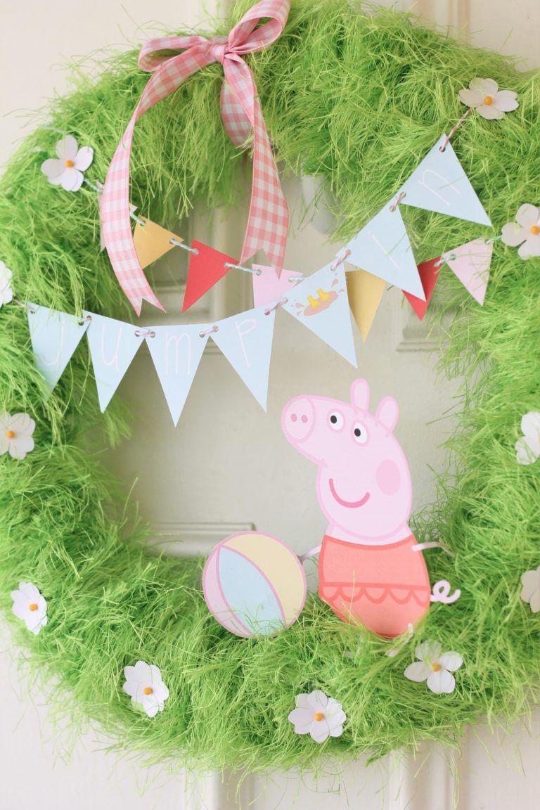 Cute Peppa Pig Party Decor Ideas