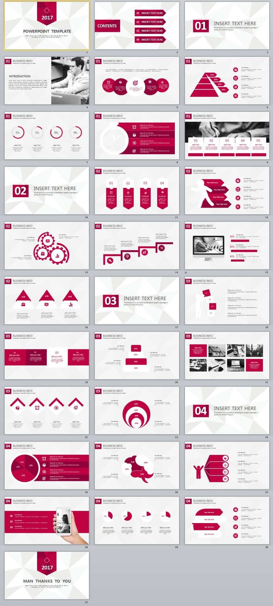 31 best business powerpoint template pinterest business 31 best business powerpoint template powerpoint templates and keynote templates flashek Images