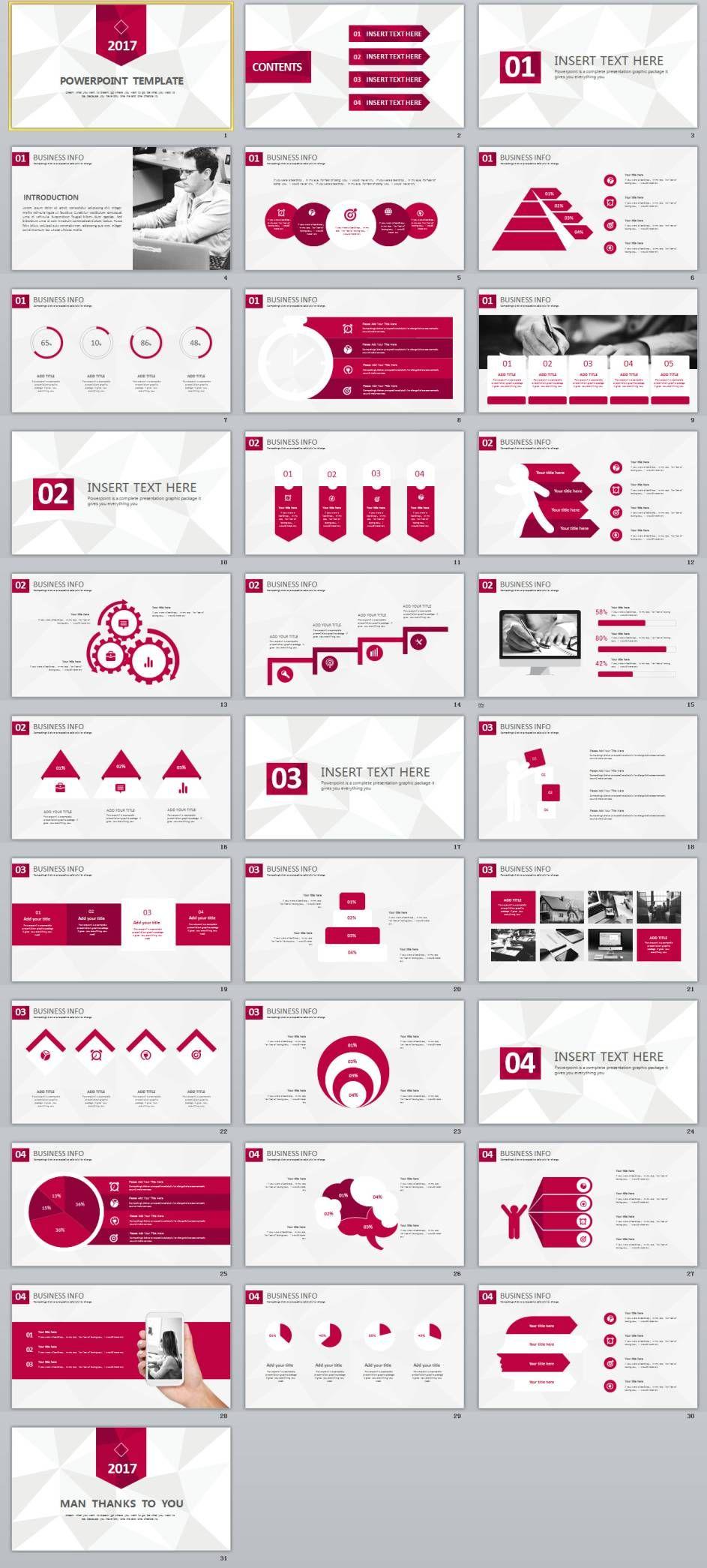 31 best business powerpoint template pinterest business 31 best business powerpoint template powerpoint templates and keynote templates fbccfo Choice Image