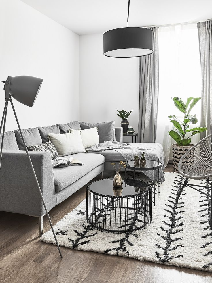 Photo of Furniture – Living Room : Shades of Grey! Grau ist eine neutrale Farbe, die sich meist in vornehmer Zurüc… – Decor Object | Your Daily dose of Best Home Decorating Ideas & interior design inspiration