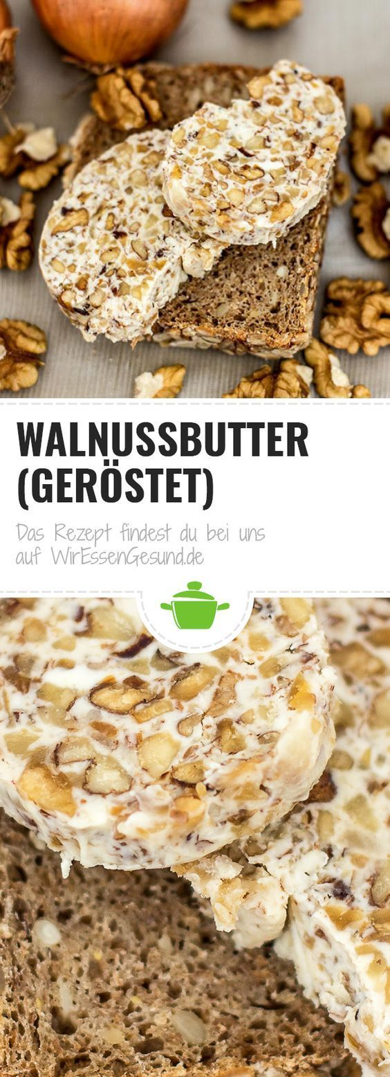 Walnussbutter (geröstet)   - Fitness und Gesundheit - #fitness #geröstet #Gesundheit #und #Walnussbu...