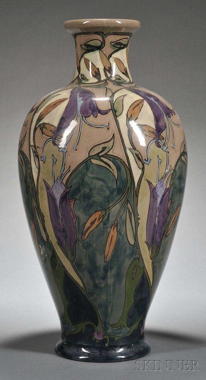Gouda high glaze pottery floor vase holland c 1910 pzh gouda high glaze pottery floor vase holland c 1910 pzh polychrome enamel reviewsmspy