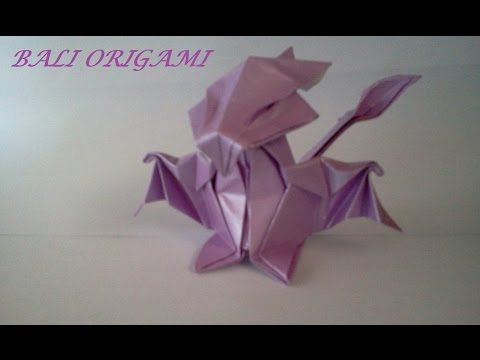 How To Make Origami Dragon Daniella Carboni Youtube Origami