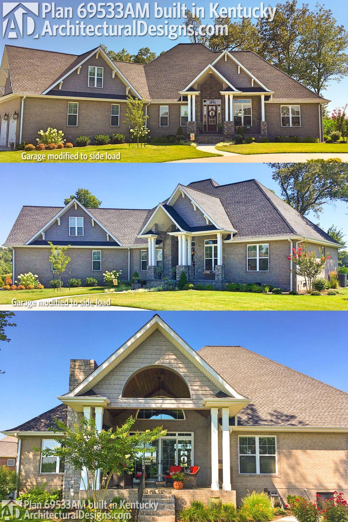 Our client built Architectural Designs Craftsman House