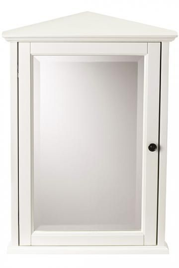 Hamilton Corner Wall Cabinet Bathroom Mirrors Bath