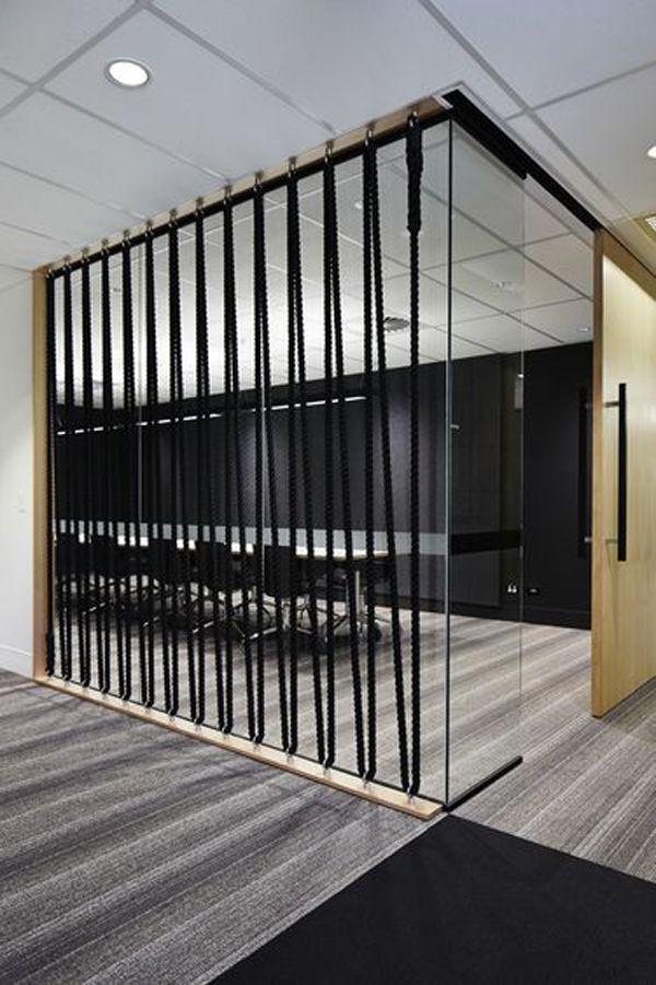 15 Einfache Seil Wand Fur Raumteiler Corporate Office Design