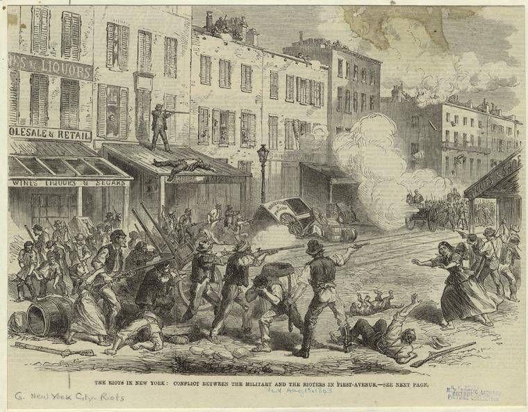 New York City Draft Riots July 1863 Gangs Of New York Image