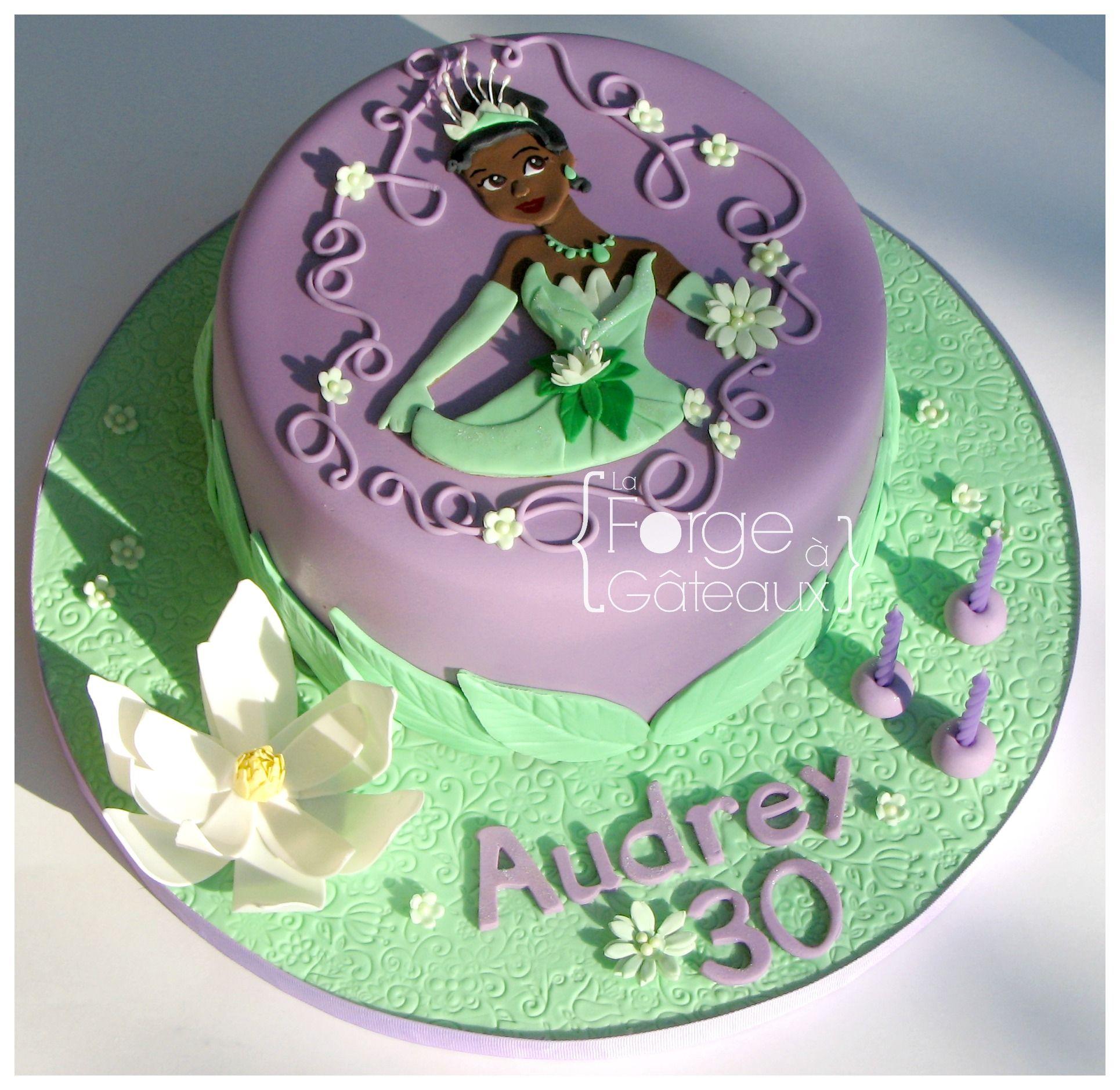 princess tiana cake decorations