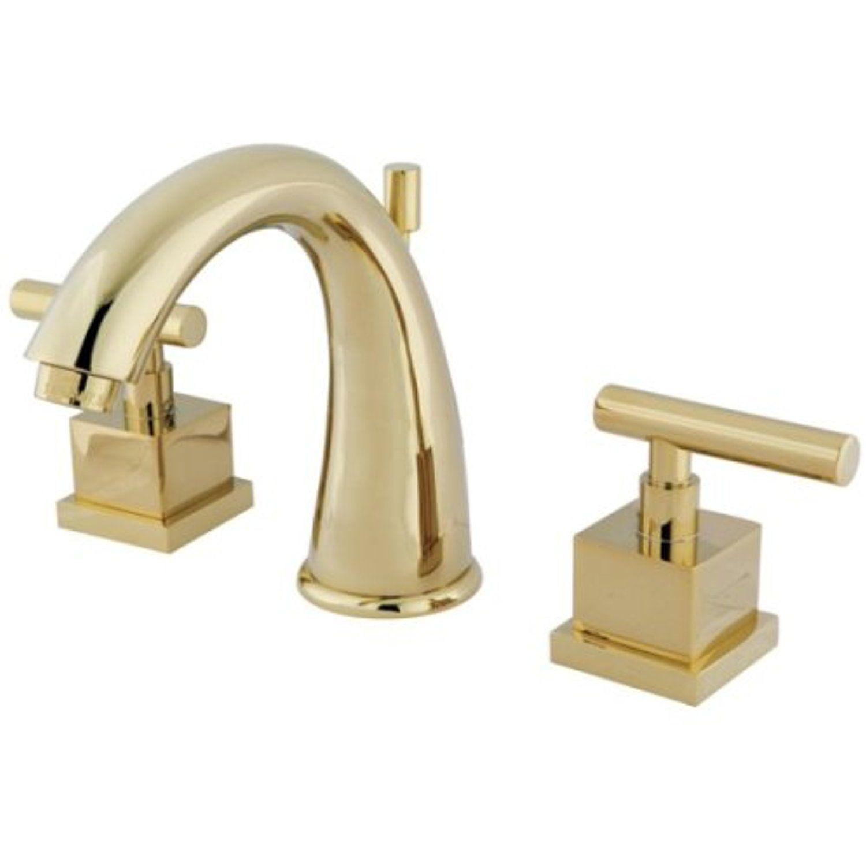 Kingston Brass KS2962CQL Claremont 8-Inch Widespread Lavatory Faucet ...
