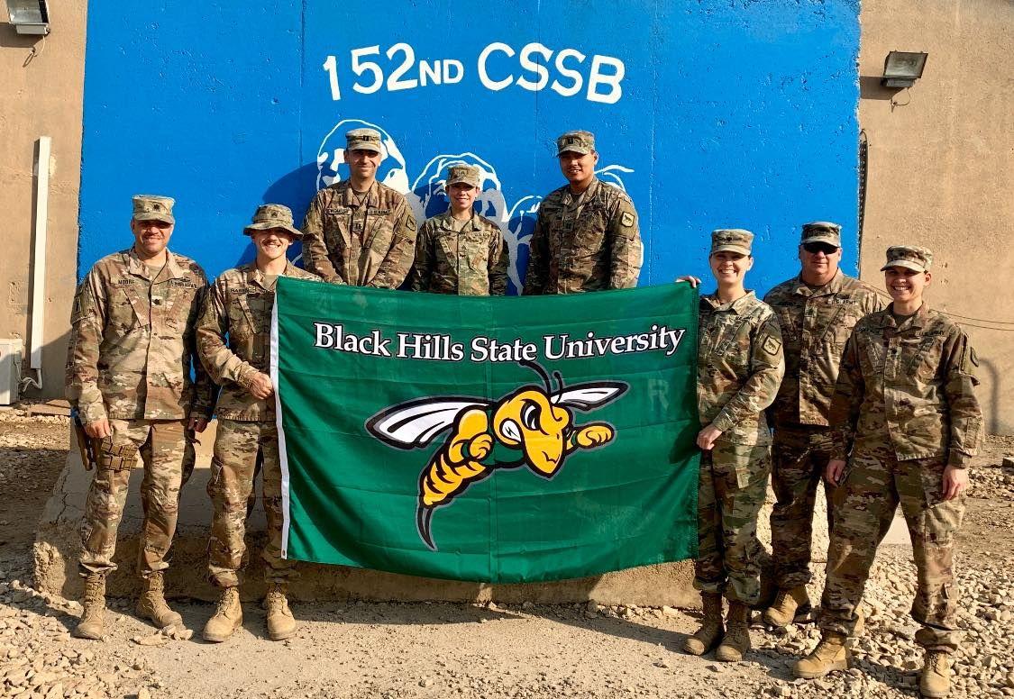 BHSU BlackHillsStateUniversity in 2020 Army national