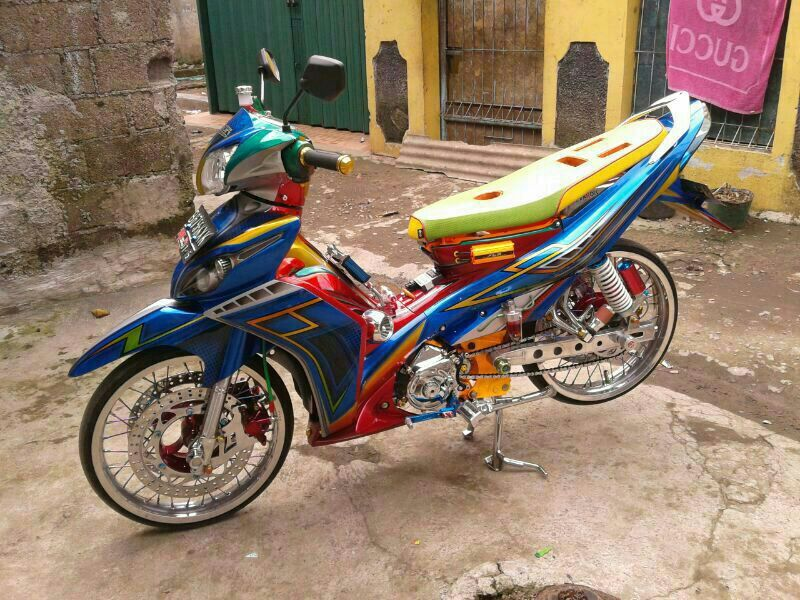 Yamaha Jupiter Z Full Modifikasi Thailand Look Juara Kontes