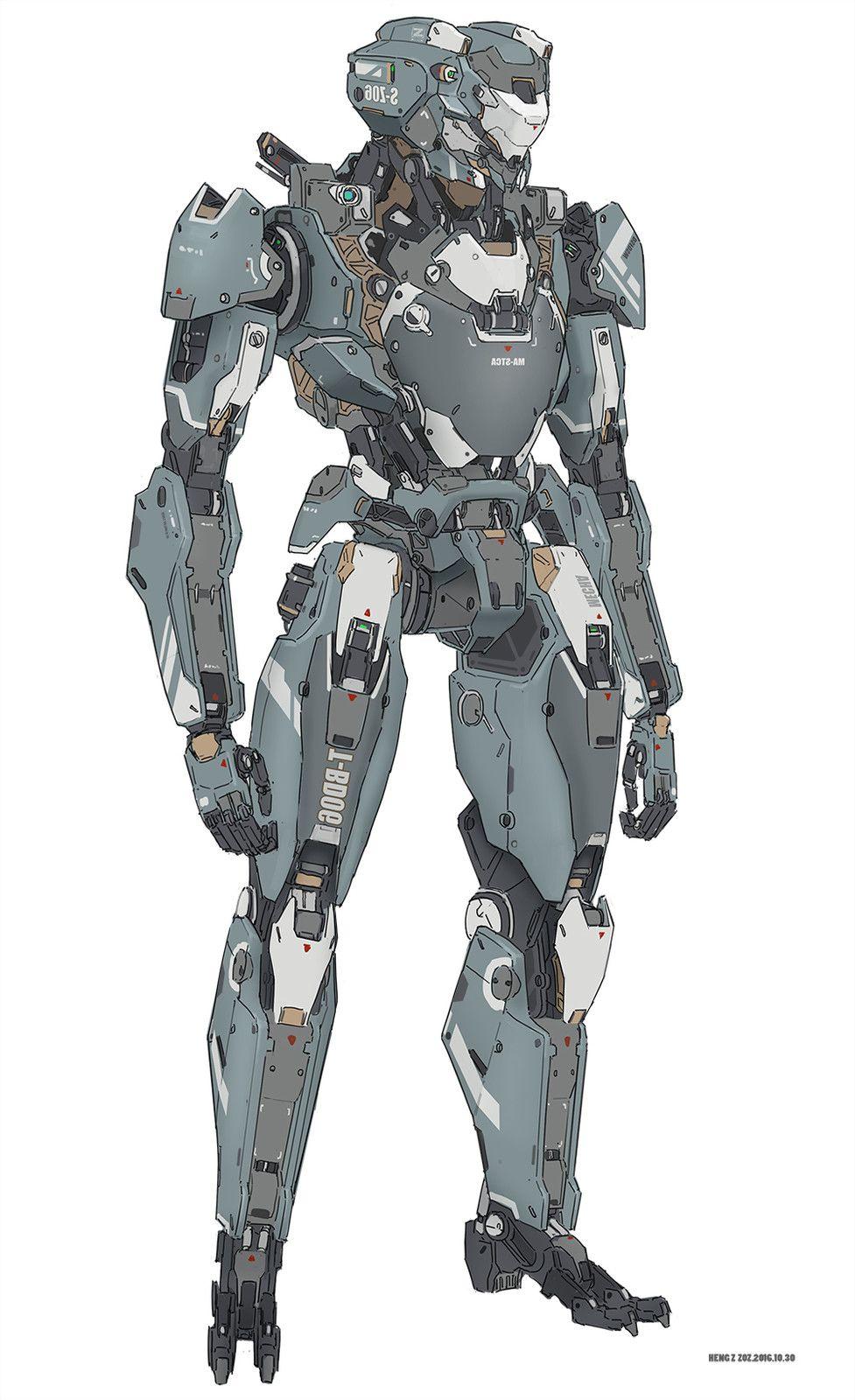 Pin By Messymaru On Mecha Robot Illustrations Robot