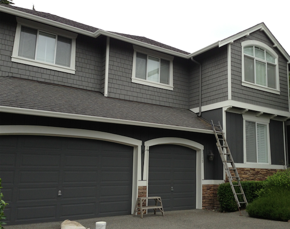 Exterior Paint Colors   Gray   Page 3 of 4   House Painting in Sammamish Exterior Paint Colors   Gray   Page 3 of 4   House Painting in  . Painting House Exterior Grey. Home Design Ideas