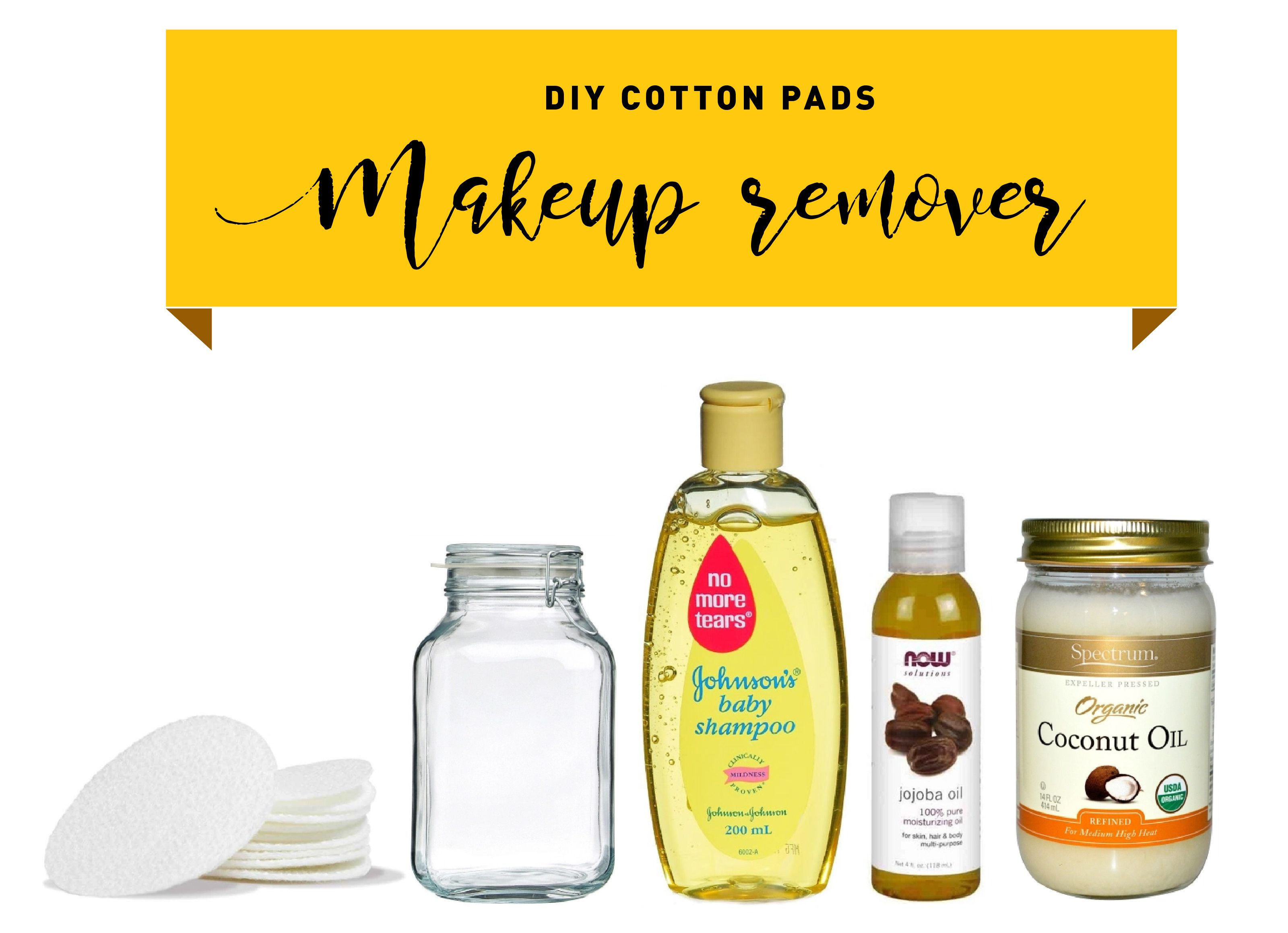 DIY Cotton Pads Makeup Remover Cotton pads, Makeup