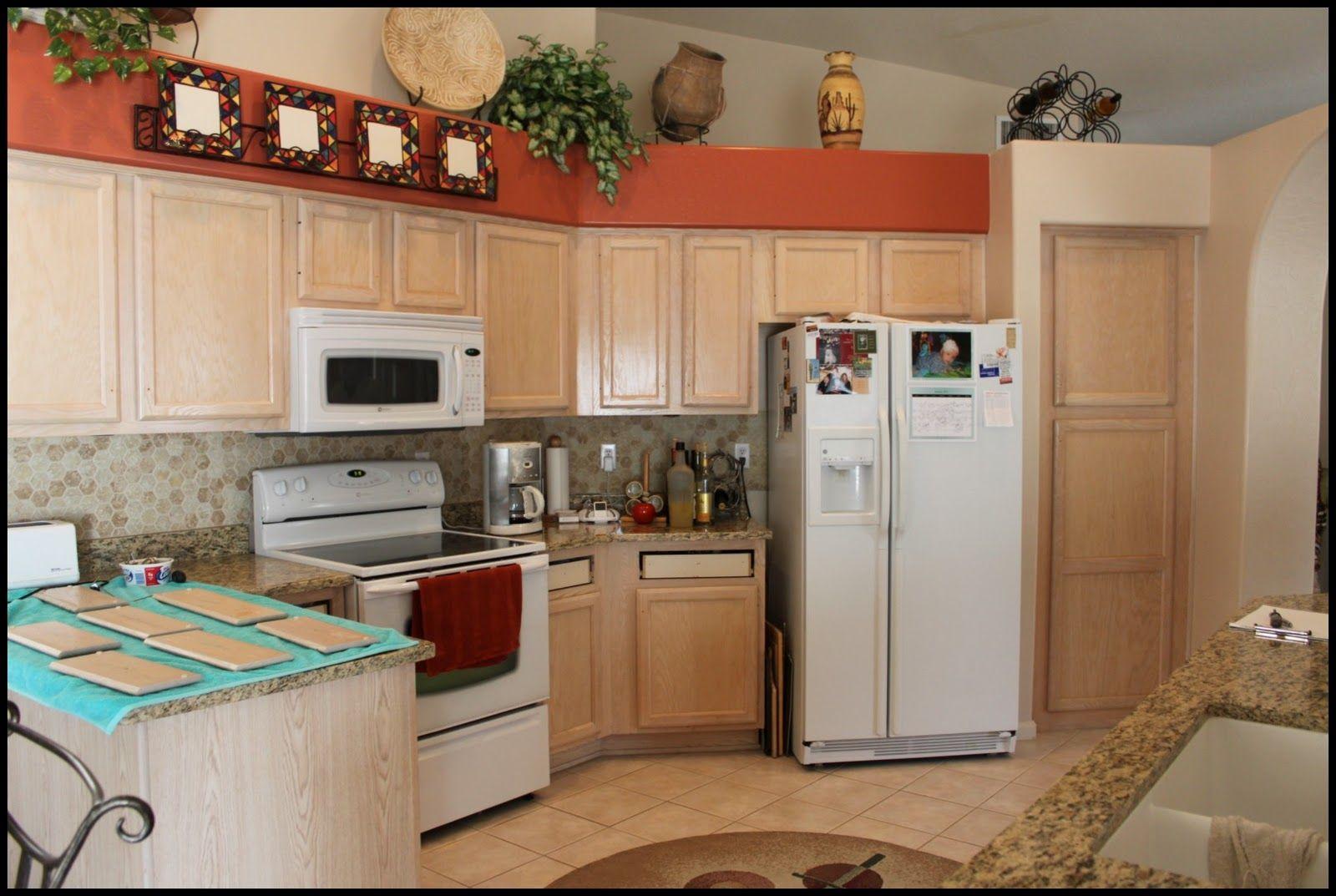 lovely whitewashed oak kitchen cabinets | kitchen white oak cabnets | ... cabinets were a white ...