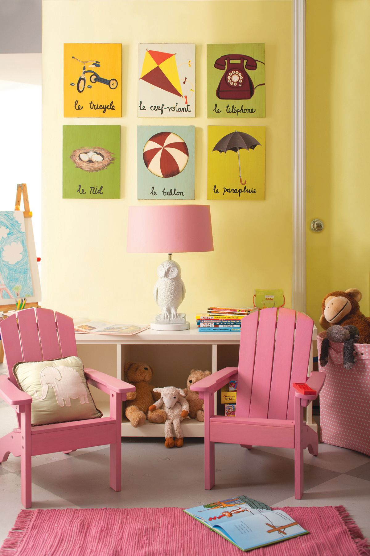 Painting Kids Rooms Green, Gray Or Yellow For Every Girl