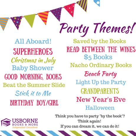 Party Themes Usborne Books Party Usborne Books Book Party
